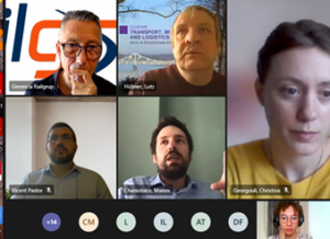 Speakers at the HARMONY webinar with ERCI